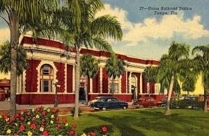 TUS Postcard 1940s